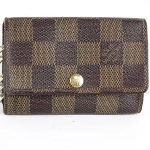 """Louis Vuitton DE """"Six Key"""" Multicles (5 hooks)"""